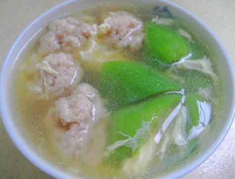 丝瓜瘦肉汤