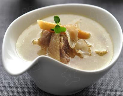 沙参百合鸭汤