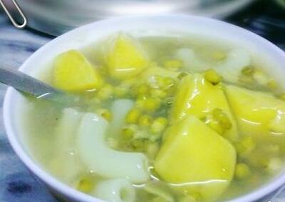 绿豆地瓜糖水